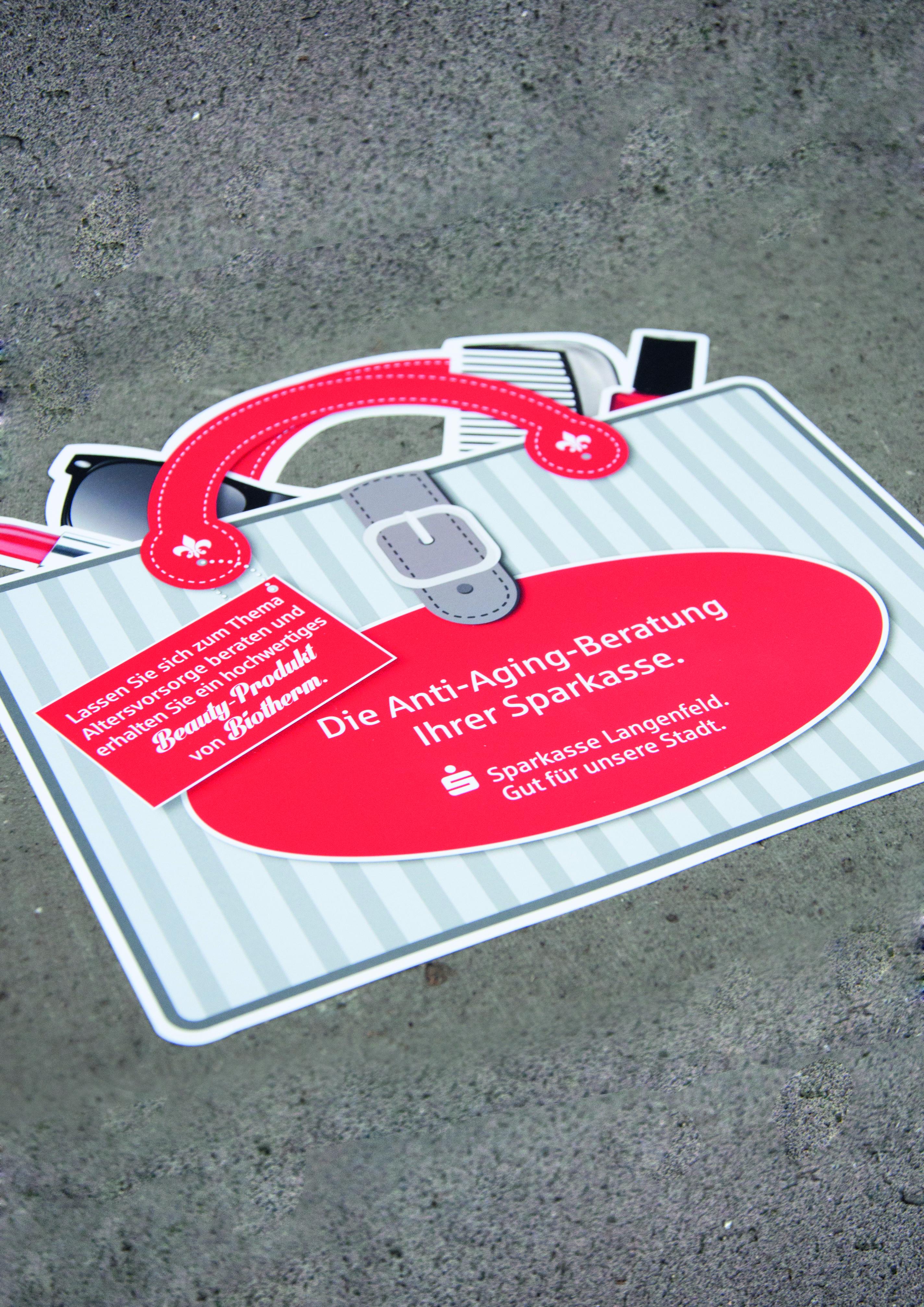 Altersvorsorge-Kampagne Sparkasse