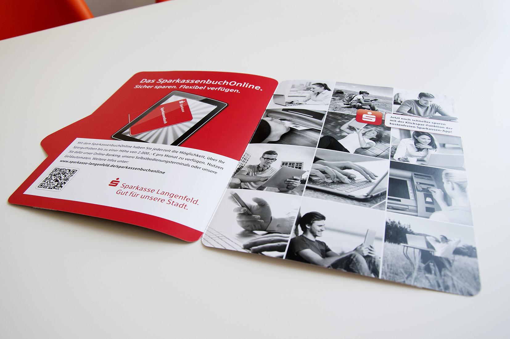 """""""SparkassenbuchOnline"""" – Kampagne"""
