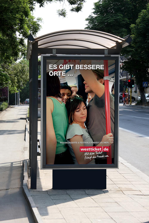 """DERTICKETSERVICE Sommerkampagne """"Bessere Orte"""""""