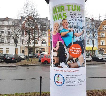 Vitalis Gesundheitszentren Kampagne