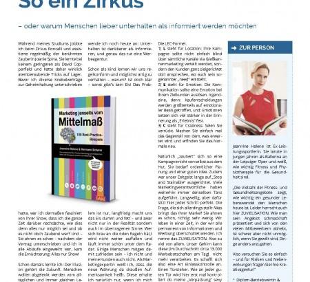 Gastbeitrag in der SC-Zeitung