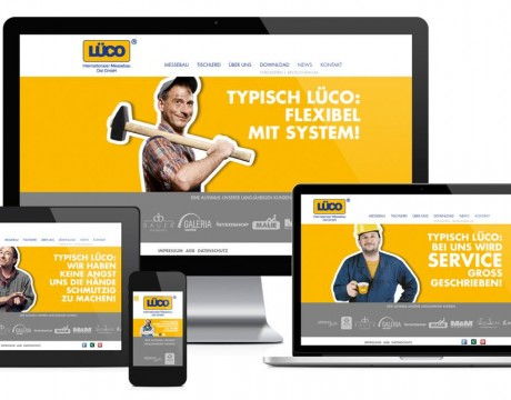Website Redesign – Lüco Messebau Ost