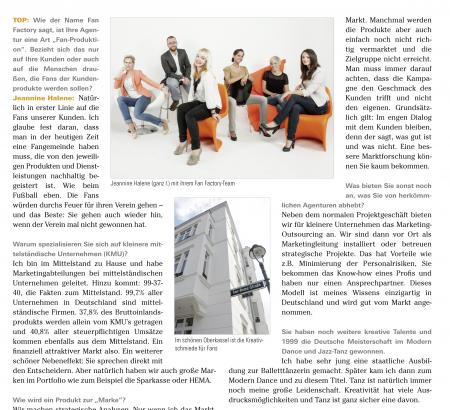 Artikel im Top Magazin Düsseldorf