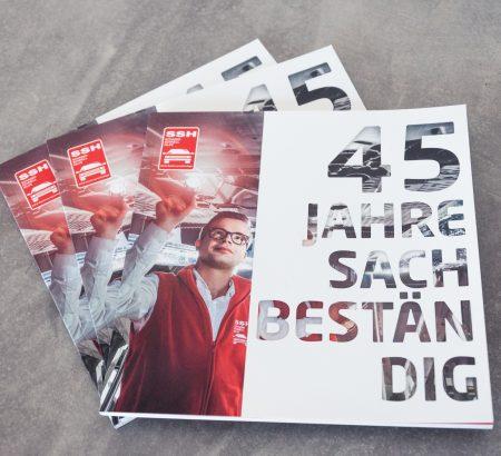 Jubiläumsbroschüre 45 Jahre SSH